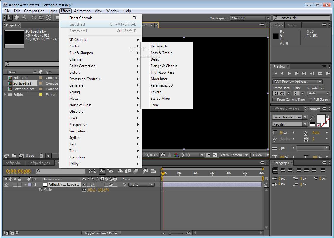 Эффект Взрыва Adobe After Effects