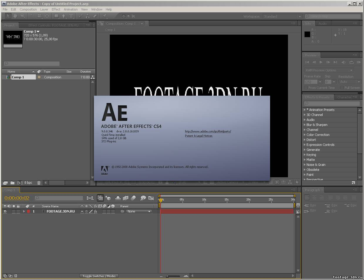 Adobe after effects cs4 final pre activated